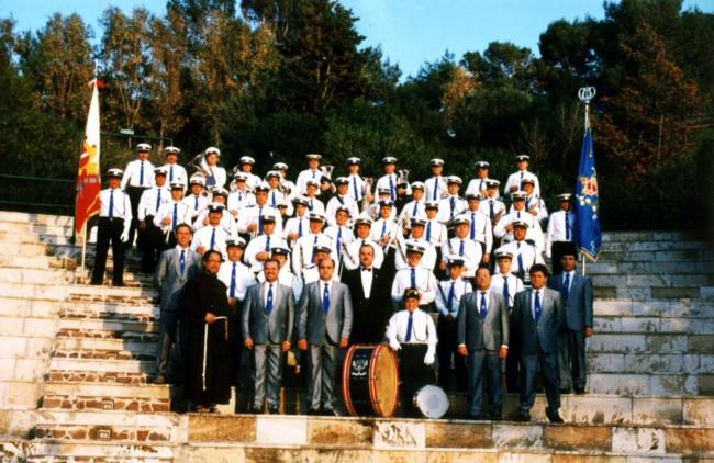 1995 Sicily Visit by Lily Band