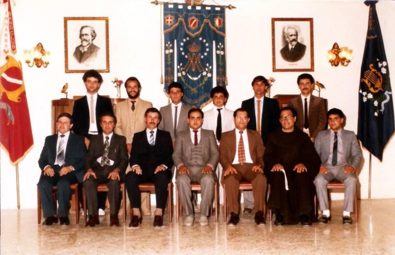 Kumitat Amministrattiv 1984-1985