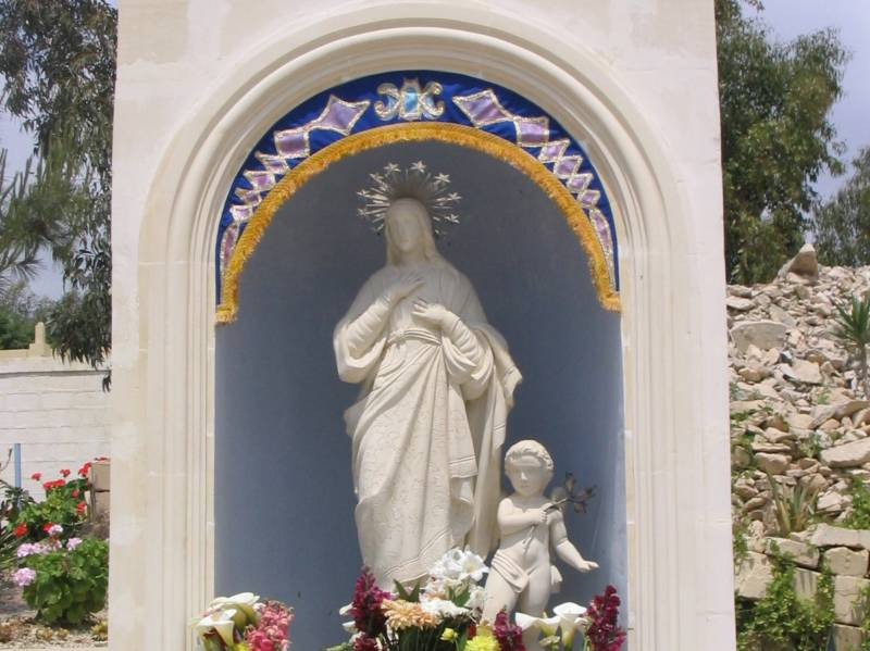 Inauguration of the Statue of Our Lady of the Lily found at the Fireworks Factory