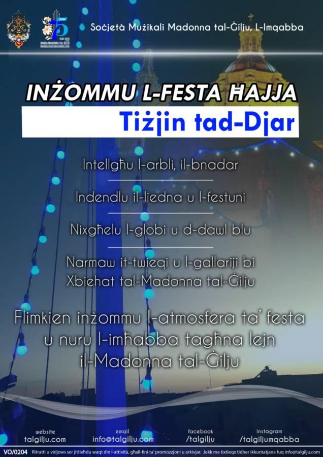 nżommu l-Festa Ħajja 2020