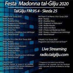25th Schedule for the Community Radio TalGilju FM 95.4