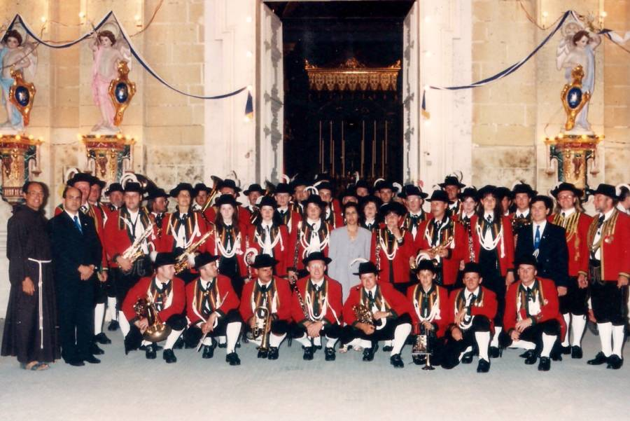 2nd Foreign Musical Formation in Mqabba 1998