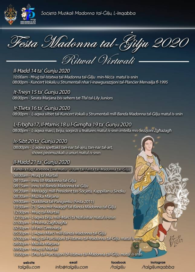 the Feast of Our Lady of the Lily 2020