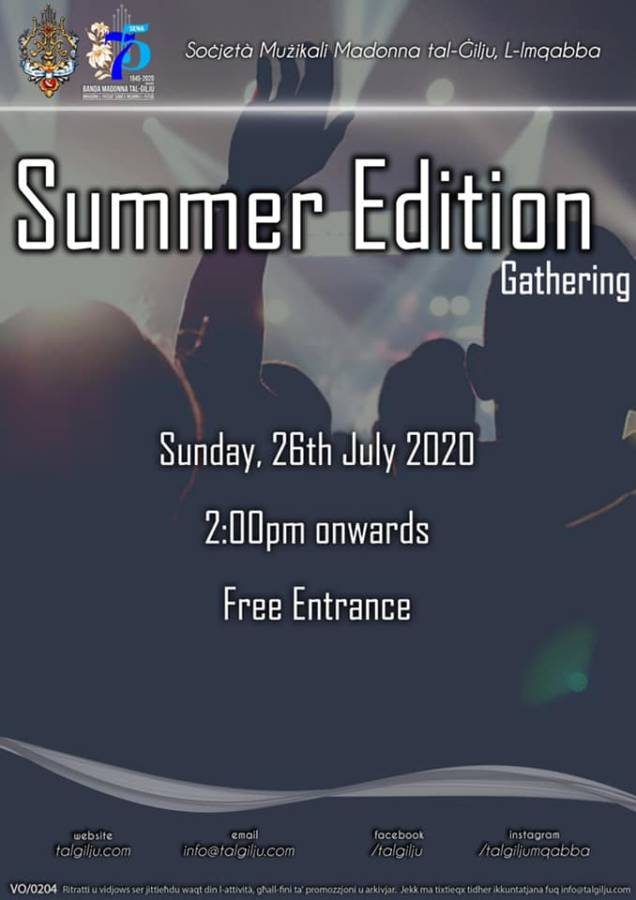 20200726 - Summer Edition Gathering at the Lily Band Club – Mqabba