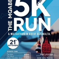 The Mqabba 5K Run and Walkathon in Aid of ALS Malta