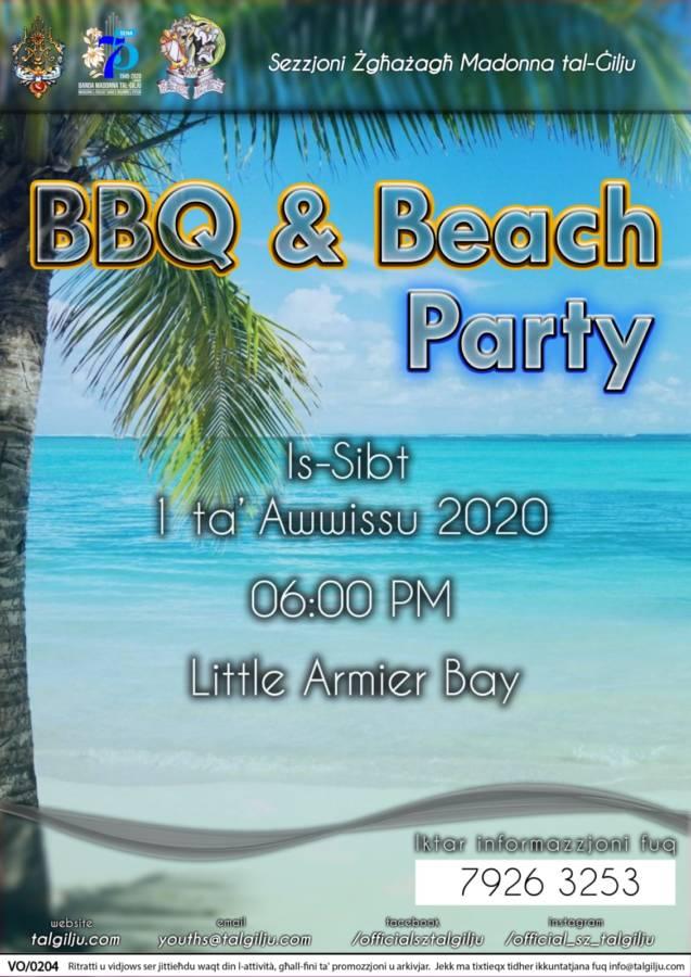 2020-08-01 - BBQ & Beach Party