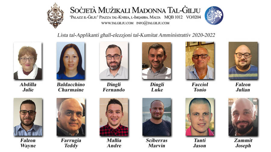 2020-2022 Administrative Committee Applicants
