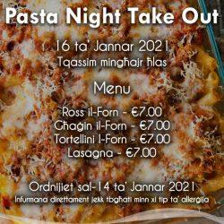 Pasta Night Take Out