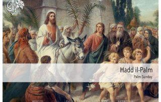 the Catholic Church makes the commemoration of Palm Sunday