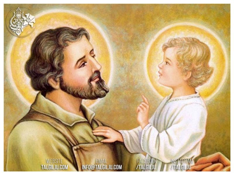 19th March – Feast of St. Joseph