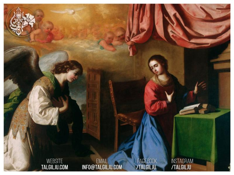 25th March - Feast of the Annunciation of the Virgin Mary