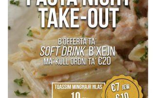10 April 2021 - Pasta Night Take Out