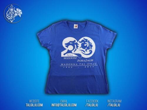 T-Shirt - Sezzjoni Zghazagh 20sena