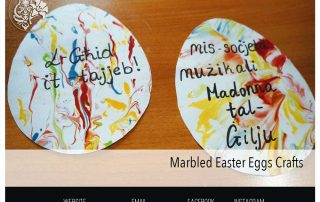 Marbled Easter Eggs Crafts