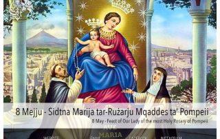 8 May - Holy Rosary of Pompeii. Ave Maria!