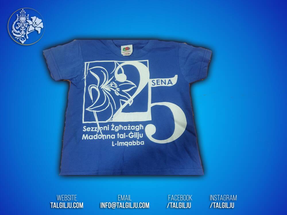 T-Shirt 25 sena Sezzjoni Zghazagh
