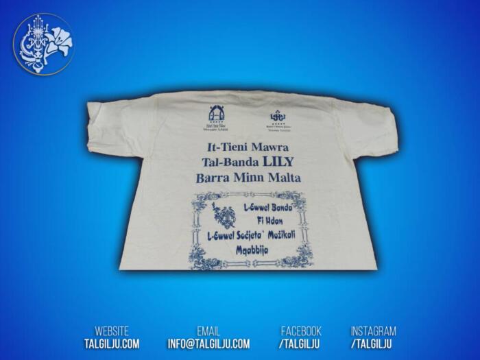 T-Shirt Banda Lily - It-Tieni Mawra