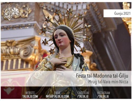 2021-06-13 – Ħruġ tal-Vara tal-Madonna tal-Ġilju min-Niċċa