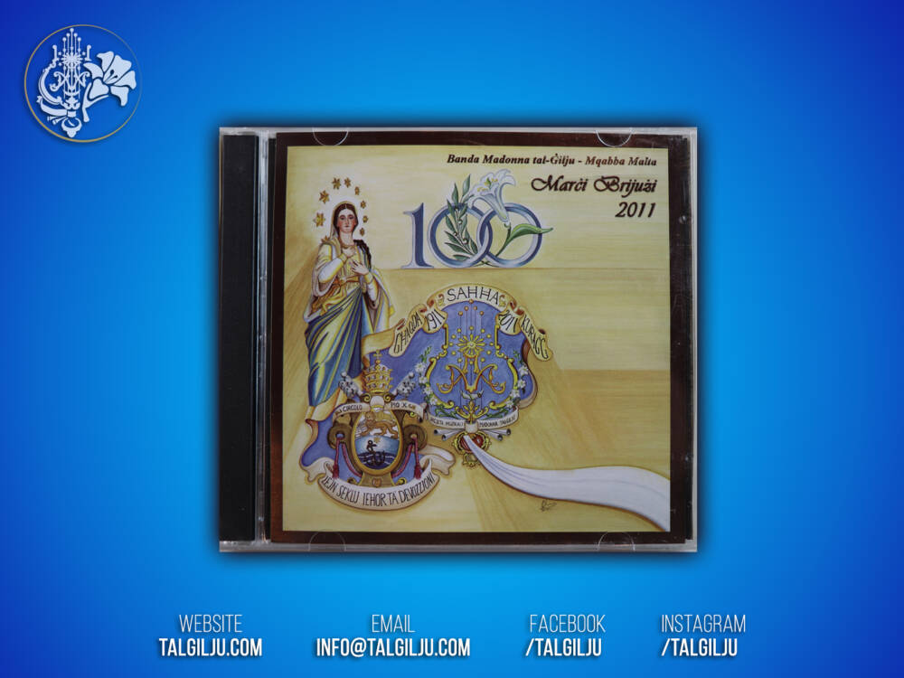 Marci Brijuzi 2011 CD